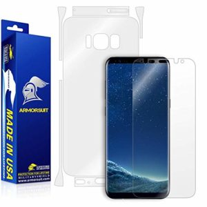 Armorsuit MilitaryShield Galaxy S8 Screen Protector