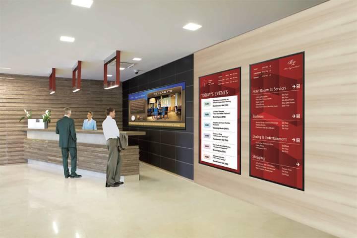 Digital Signage Benefits Hospitality Industry