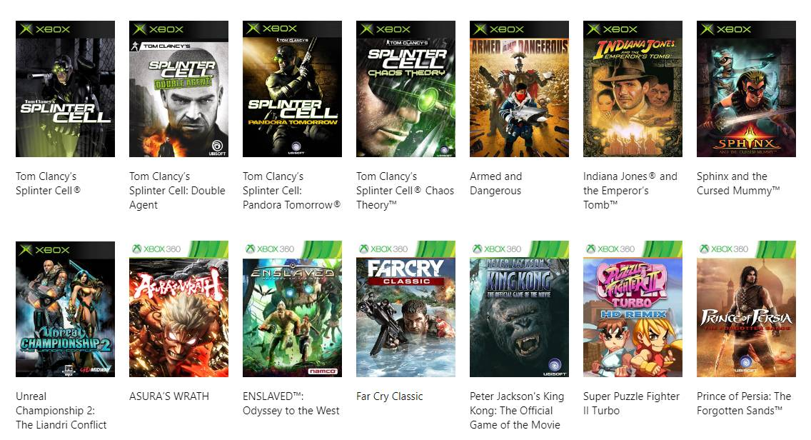 do xbox 360 games work on xbox one