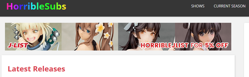 Horriblesubs