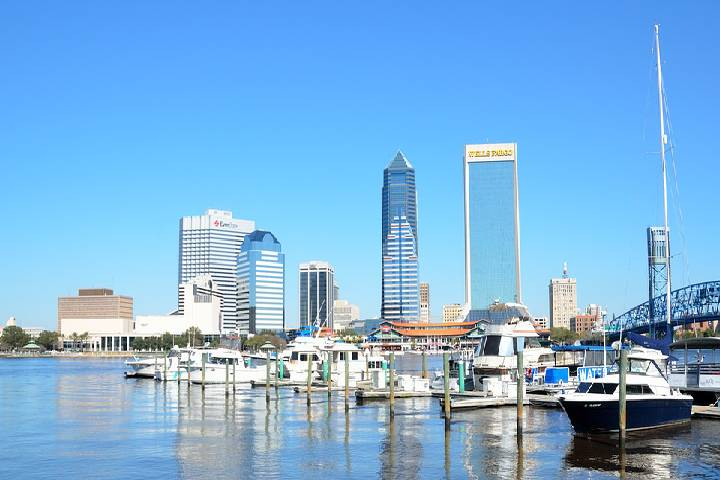 A Graphic History Of Jacksonville, Florida, USA
