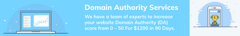 Domain Authority (DA) Services