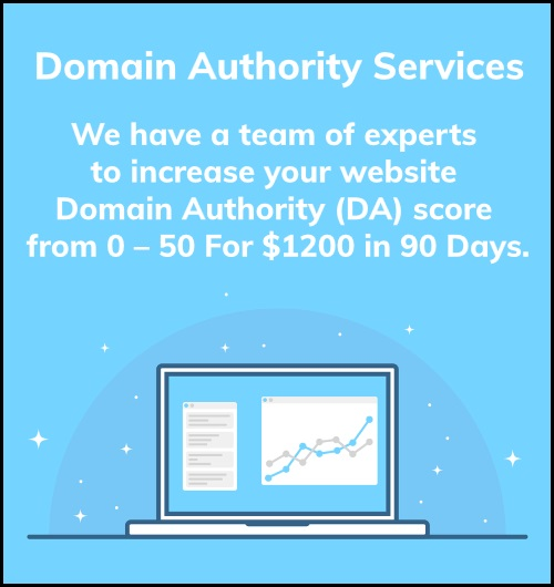Domain Authority (DA) Services