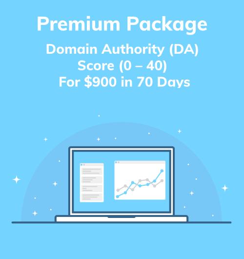 Premium Package DA Score 0 - 40