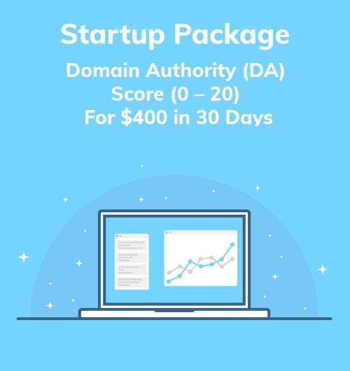 Startup Package DA Score 0 - 20