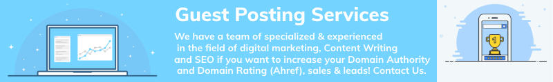 Guest Posting Services - Guest Posting Packages