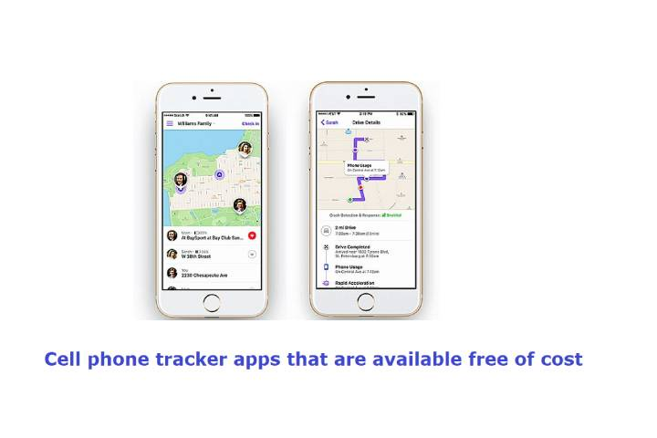 Cell phone tracker apps that are available free of cost