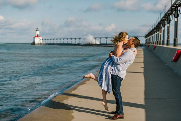 Give yourself a much-need Vacation by the Sea in Michigan City.