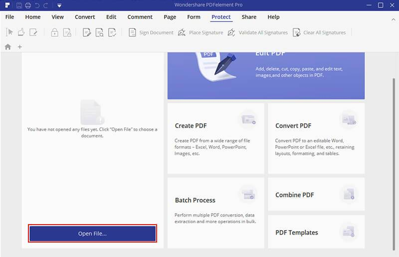 How to Use PDFelement Pro to Edit a Scanned PDF