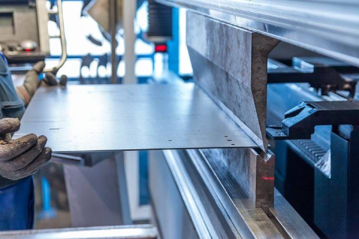 raw metal materials through welding, cutting, burning, machining, and assembly