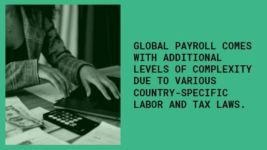 International payroll A quick overview